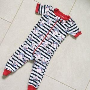 3 for $12! Baseball pajamas